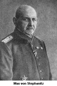Captain Max von Stephanitz